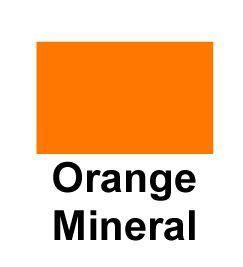 Sued Tex Rayon Undercoat Adhesive Orange Mineral