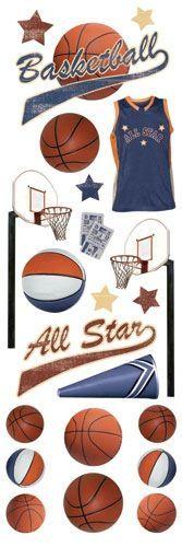 Basketball Rub-ons