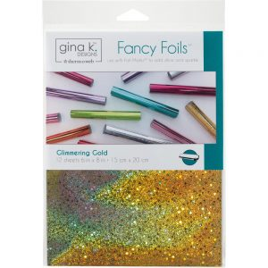 Fancy Foils Glimmering Gold