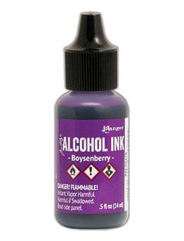 Tim Holtz Alcohol Ink Bosyenberry