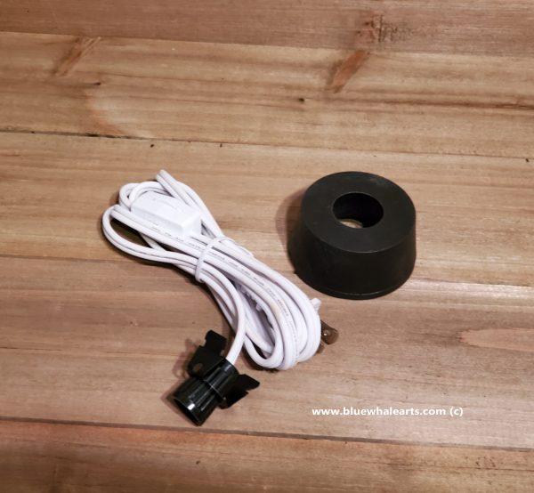 black base white cord 2