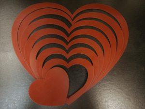 Heart Craft Template