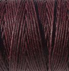 Maroon Crawford Irish Wax Linen 50 gram